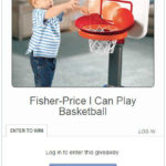 Cisco Fisher-Price I Can Play Basketball Giveaway!