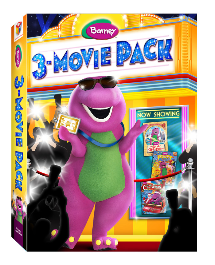barney 3 movie pack