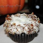 Chocolate Cupcake Recipe – Pumpkin with Spiced Rum Cream Cheese Frosting & Good Cook Twitter Party!