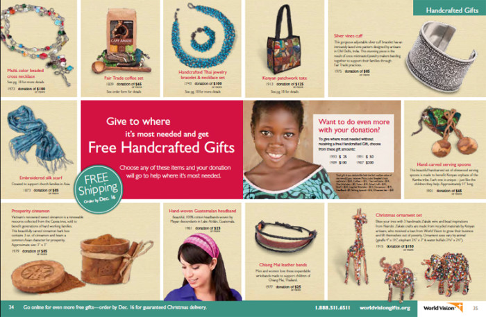 Free Handcrafted Gifts