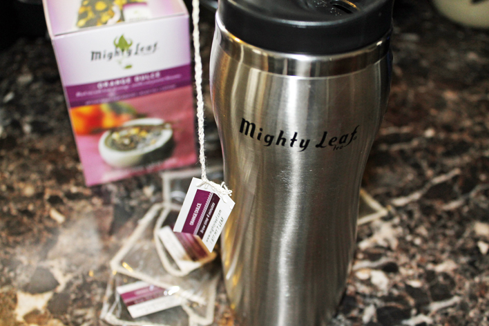 Mighty Leaf Tea Top Brew Mug