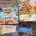 Del Monte Fruit Burst Squeezers and New Mango Pineapple Fruit Cup Snacks Review & Gift Pack Giveaway!
