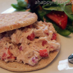 Weight Watchers Tuna Sandwich with Side Salad Recipe