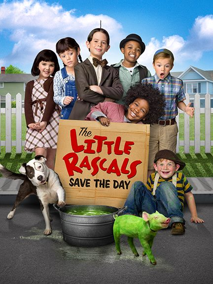 The Little Rascals Save the Day Movie cover