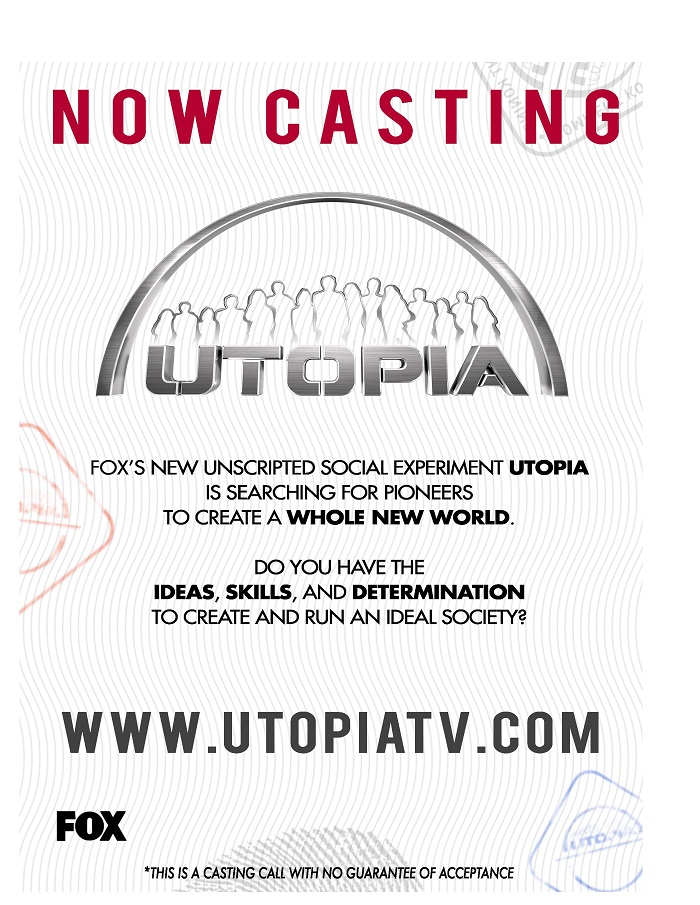 Utopia Casting Flyers 4 Final