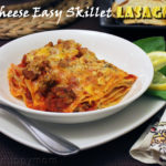 One Pot Meal- 4 Cheese Easy Skillet Lasagna Recipe & Good Cook Build Your kitchen Drawer Giveaway!