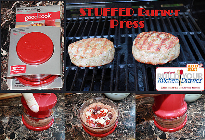 stuffed burger press