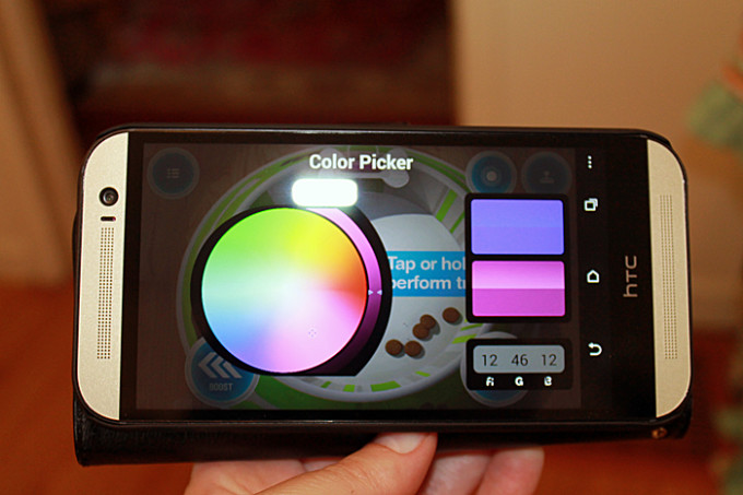 sphero color picker