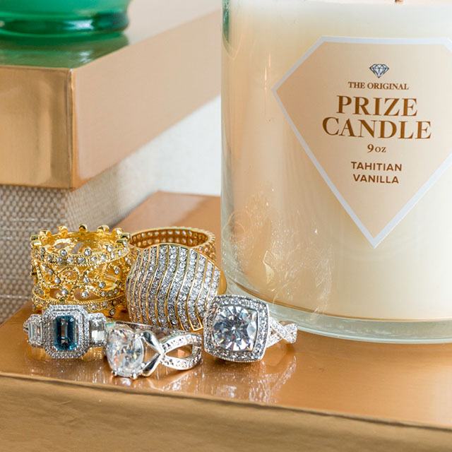 Prize Candle Rings