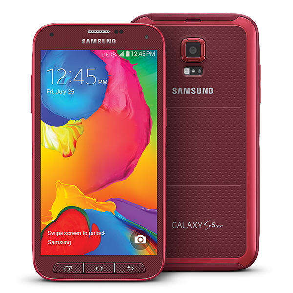 Samsung Galaxy S 5 Sport Cherry Red