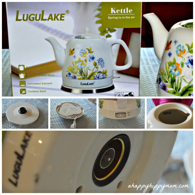 lugulake ceramic electric kettle