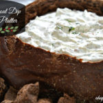 Holiday Rye Boat Dip Recipe & Hamilton Beach Food Processor Giveaway! #StackandSnap