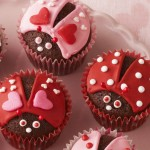 Valentine's Day Recipes -Lovebug Cupcakes and Heart-shaped Cookies!