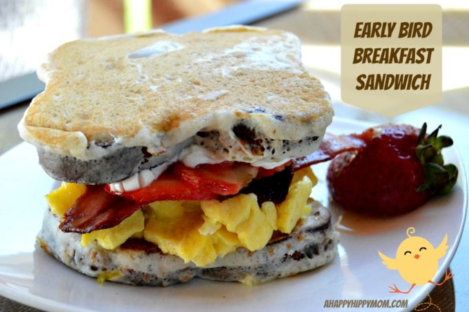 Early Bird Breakfast Sandwich 1