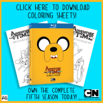 adventure time coloring sheets