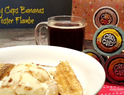 Crazy Cups Bananas Foster Flambe