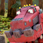 Netflix Dinotrux- Back-to-school Groove! #StreamTeam