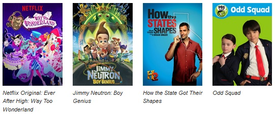 Netflix School Inspired Titles