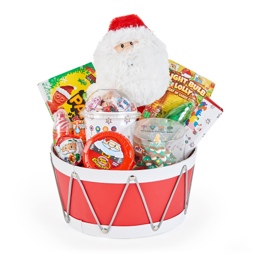 Dylan's Candy Bar Christmas Santa Gift Basket