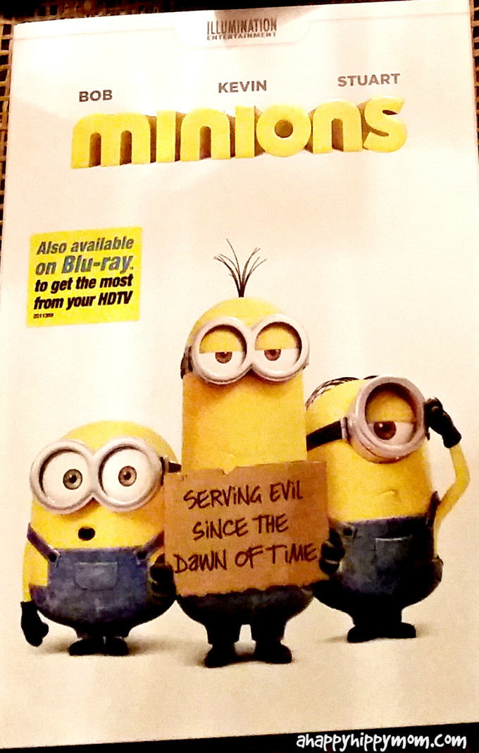 Minions Movie DVD