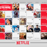 Netflix holiday calendar! No bah humbug! #StreamTeam