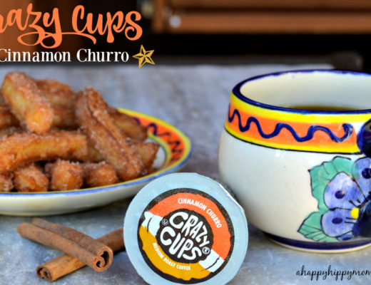 crazy cups cinnamon churro