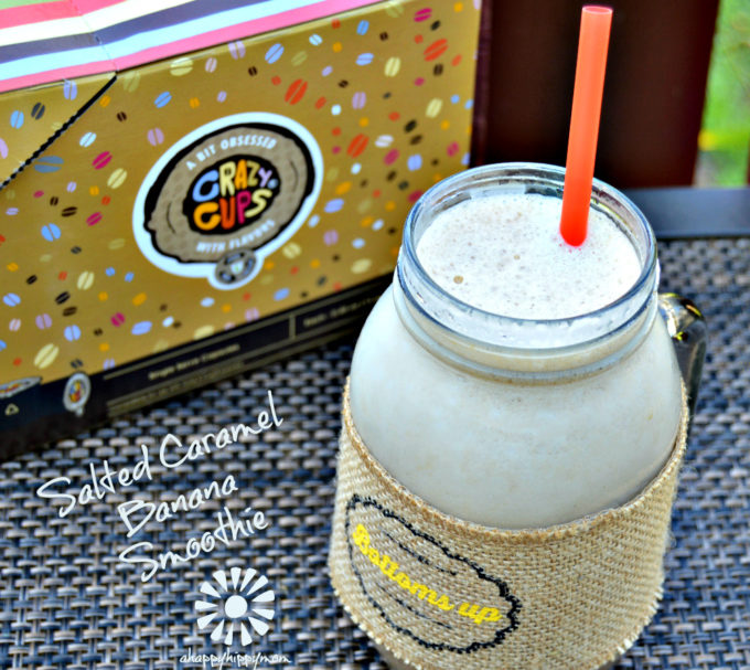 Salted Caramel Banana Smoothie