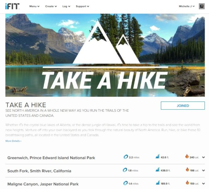 ifit hike
