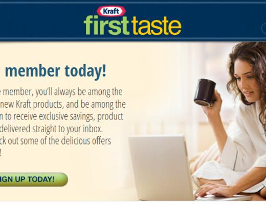 Kraft First Taste