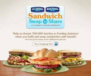 Sandwich Swap n Share
