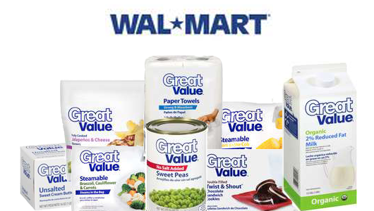 Walmart Great Value Product Complaint Emails