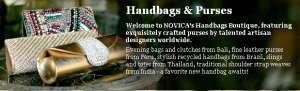 NOVICA HAND BAGS
