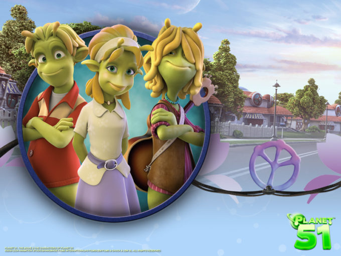 Planet 51 Coming November 20th – Watch The Trailer Here!