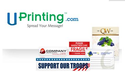 Uprinting.com Custom Sticker Giveaway!