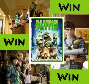 Aliens In The Attic Giveaway