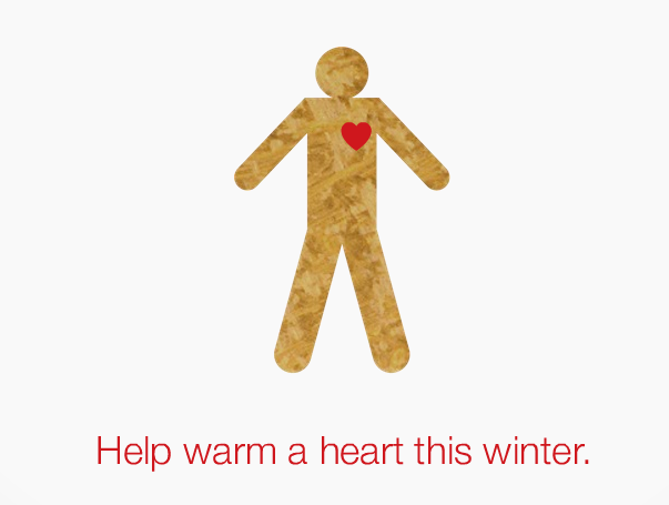 Lands' End Big Warm Up – Warm A Heart -Please Pass It Along