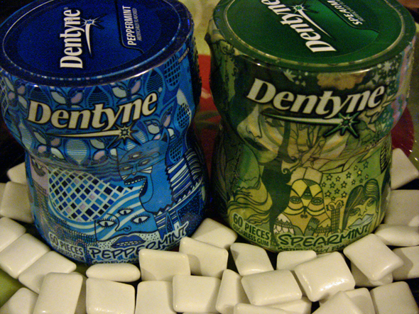 Dentyne Anthony Yankovic Premium Badge Edition Bottles Review and Giveaway!