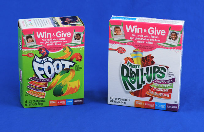 Betty Crocker Fruit Flavored Snacks Giveaway – Win One Give One Laptop!