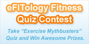 Debunk The Myths With The eFITology Exercise Mythbuster Quiz! – Win Exercise Equipment!