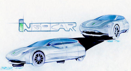 First Concept Images Of The 170 mpg IngoCar!