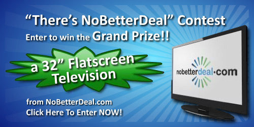 """There's NoBetterDeal"" Contest – Enter to Win a 32"" TV!"