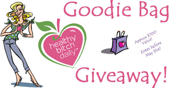ahappyhippymom.com Healthy Bitch Daily Goodie Bag Giveaway! ($700 Value)