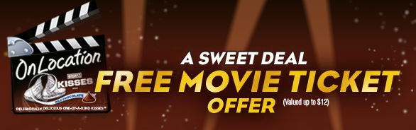 Hershey's FREE Movie Ticket!
