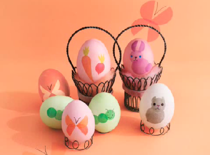 Easter Eggs Decorating Resources!