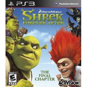 Shrek Forever After Video Game By Activision