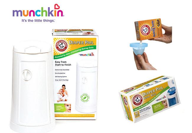 Diaper Pail Test Drive Munchkin Arm & Hammer – Week 2
