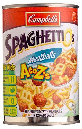 CLASS I SpaghettiOs Recall -Check Your Pantry!