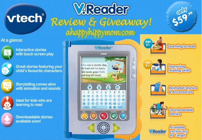 Reading Comes To Life With VTech V.Reader – Review and Giveaway!