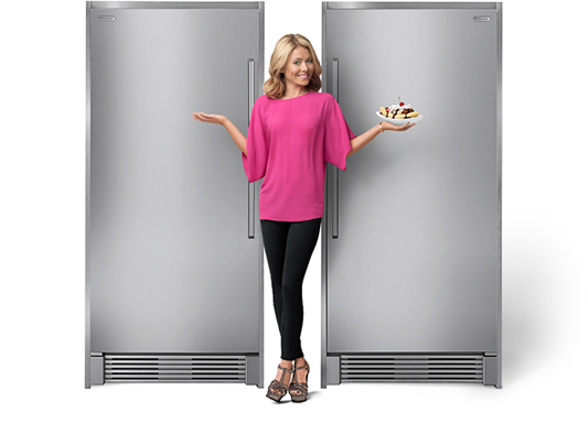Splits For A Cause Campaign Win Stand Alone Refrigerator And Freezer From Electrolux