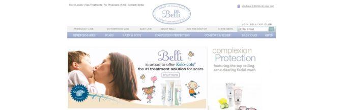 Belli Skin Care -Previous Sponsor